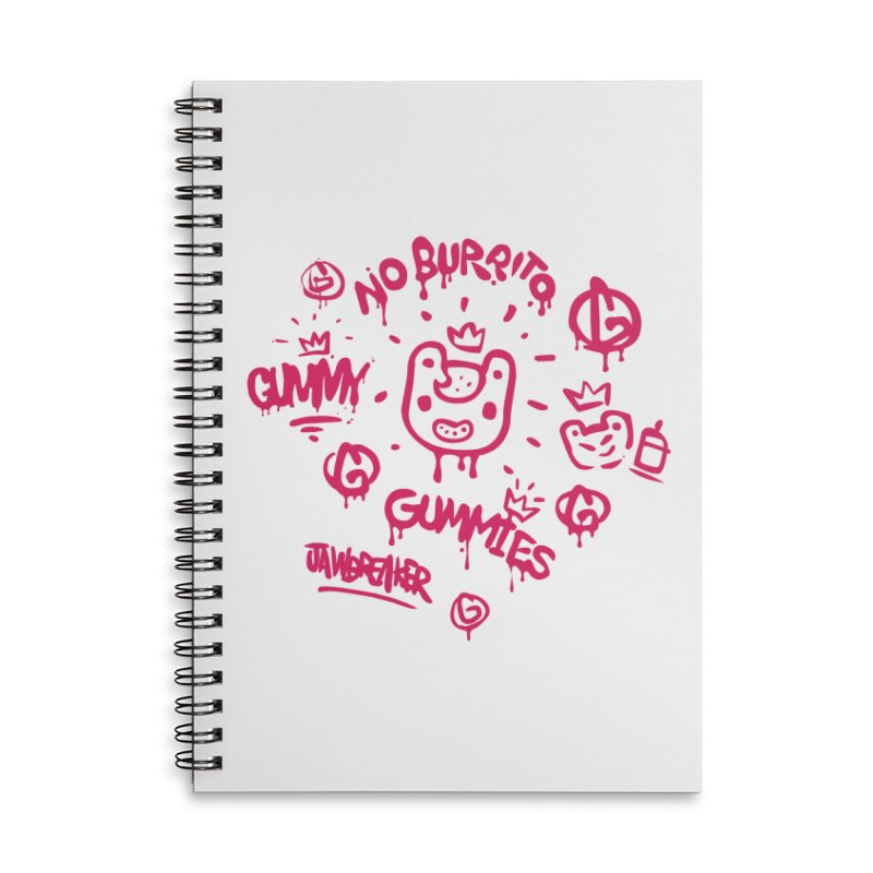 Burrito Bison - NO BURRITO Accessories Lined Spiral Notebook by The Juicy Beast shop!