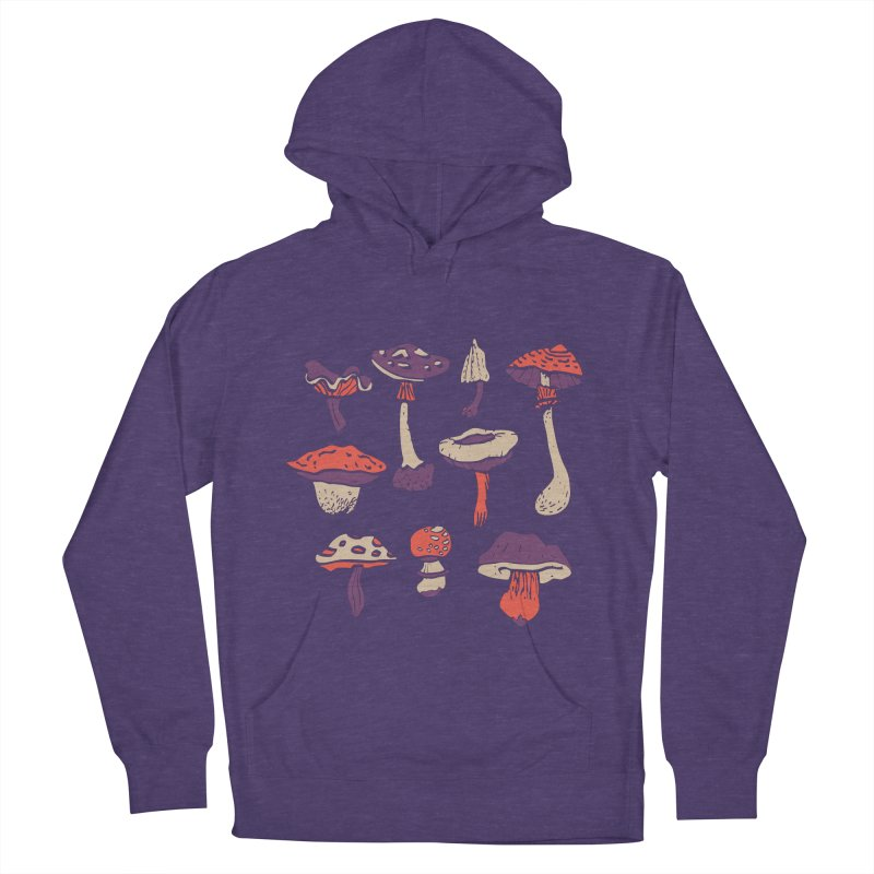 mushrooms Women's Pullover Hoody by julaika's Artist Shop
