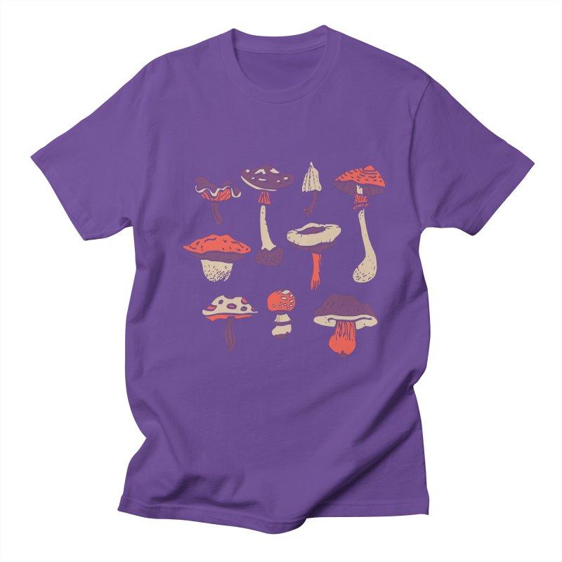 mushrooms Women's Unisex T-Shirt by julaika's Artist Shop