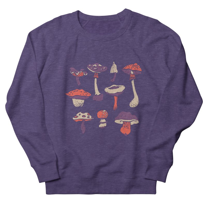 mushrooms Women's Sweatshirt by julaika's Artist Shop
