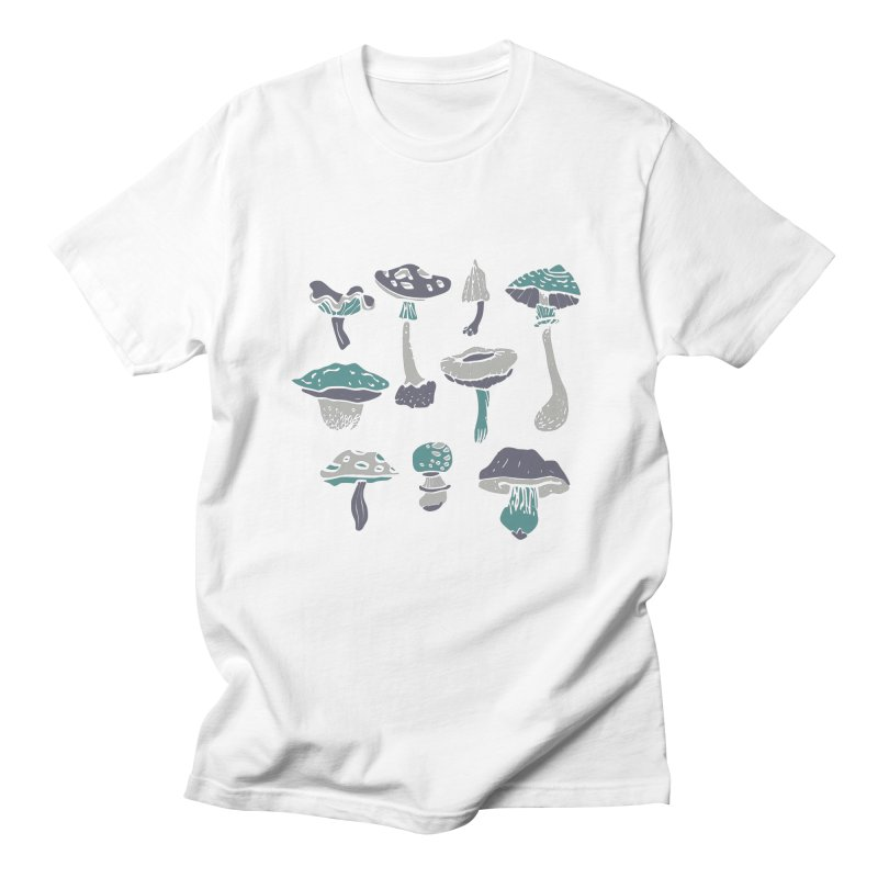 mushrooms II Men's T-shirt by julaika's Artist Shop