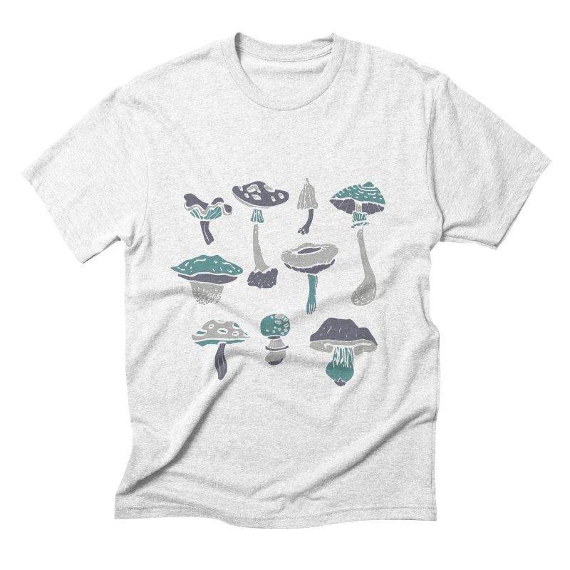 mushrooms II Men's Triblend T-shirt by julaika's Artist Shop