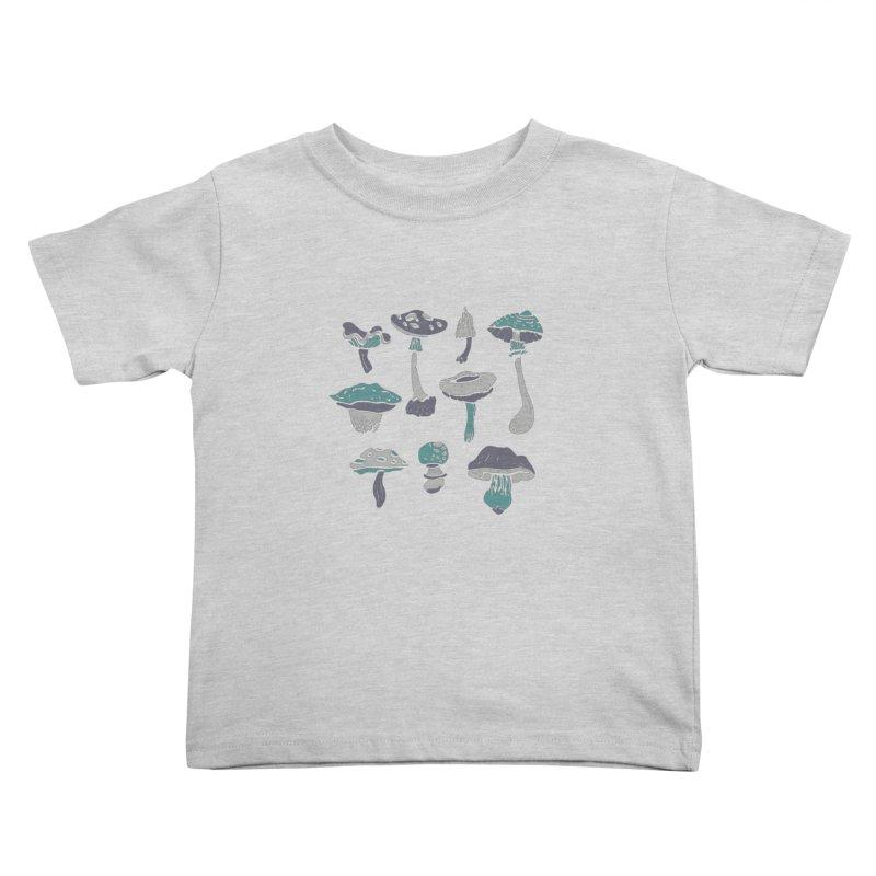 mushrooms II Kids Toddler T-Shirt by julaika's Artist Shop