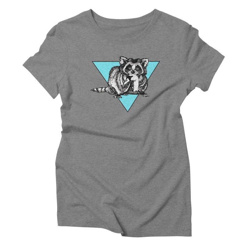 the easy prey Women's Triblend T-Shirt by julaika's Artist Shop