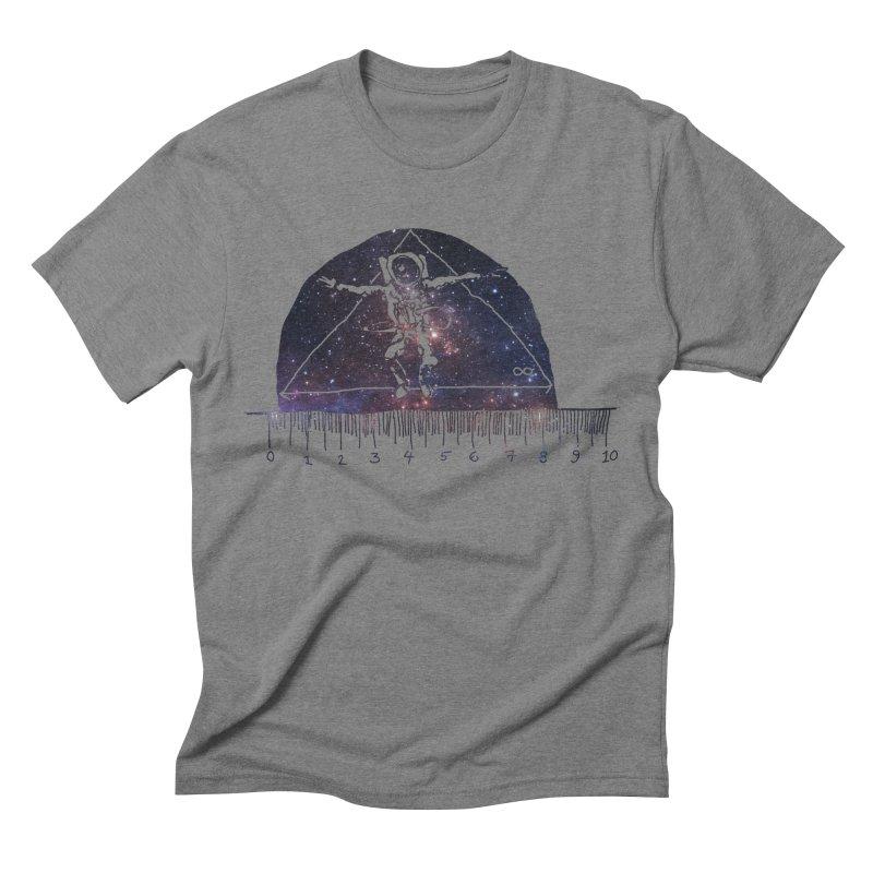 Measuring the universe. Men's Triblend T-shirt by julaika's Artist Shop