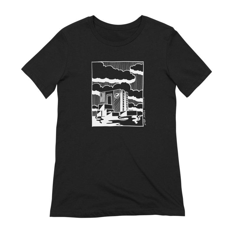 Vehicle Assembly Building NASA Women's T-Shirt by Juleah Kaliski Designs