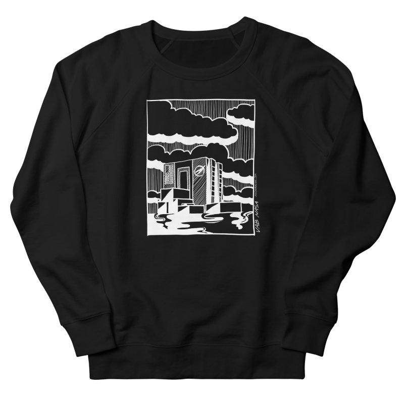 Vehicle Assembly Building NASA Women's French Terry Sweatshirt by Juleah Kaliski Designs