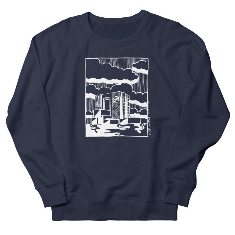 Vehicle Assembly Building NASA Men's Sweatshirt by Juleah Kaliski Designs