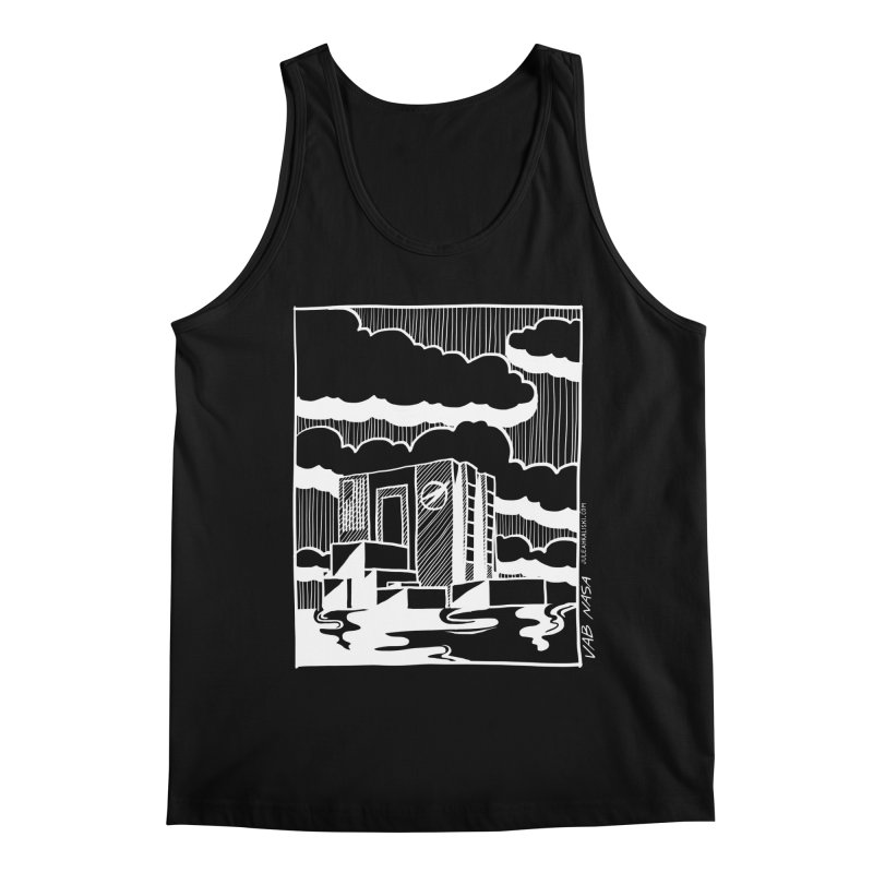 Vehicle Assembly Building NASA Men's Regular Tank by Juleah Kaliski Designs