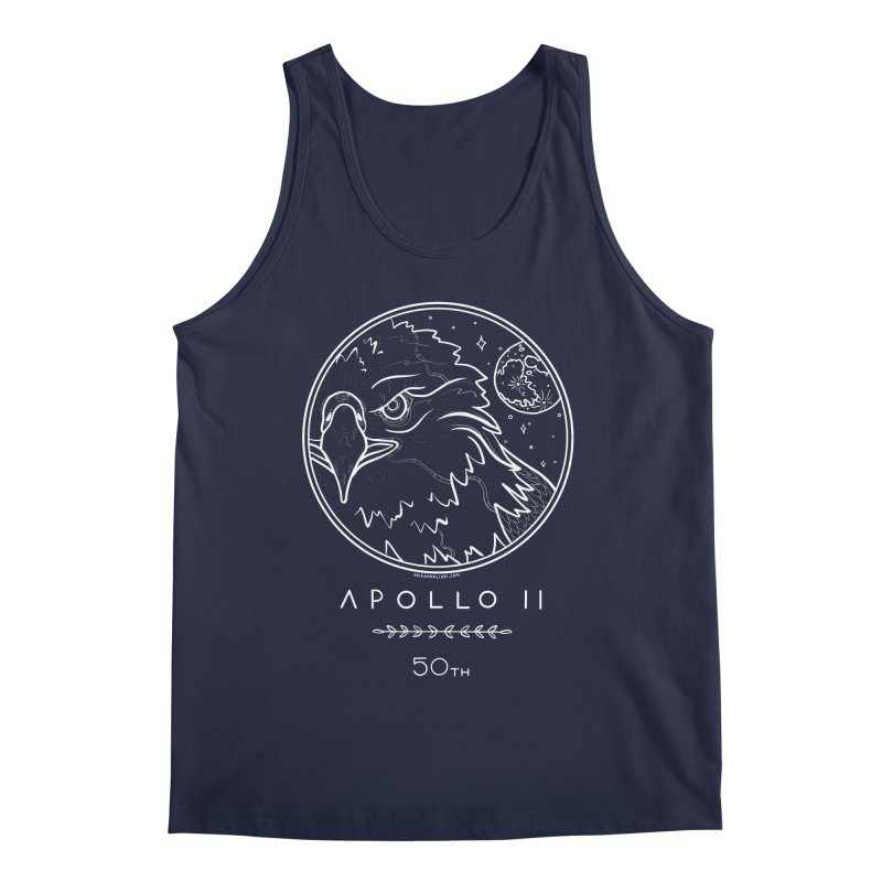 Apollo 11 50th Anniversary Men's Regular Tank by Juleah Kaliski Designs
