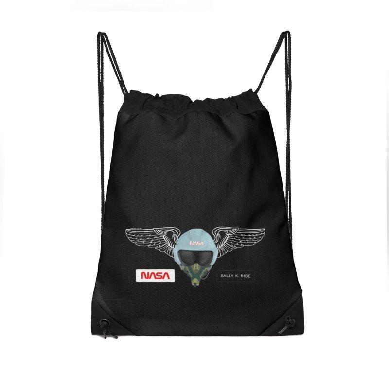 Sally Ride Tribute Accessories Bag by Juleah Kaliski Designs