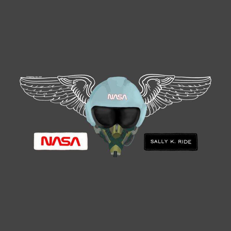 Sally Ride Tribute Accessories Notebook by Juleah Kaliski Designs