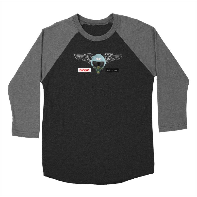 Sally Ride Tribute Women's Longsleeve T-Shirt by Juleah Kaliski Designs