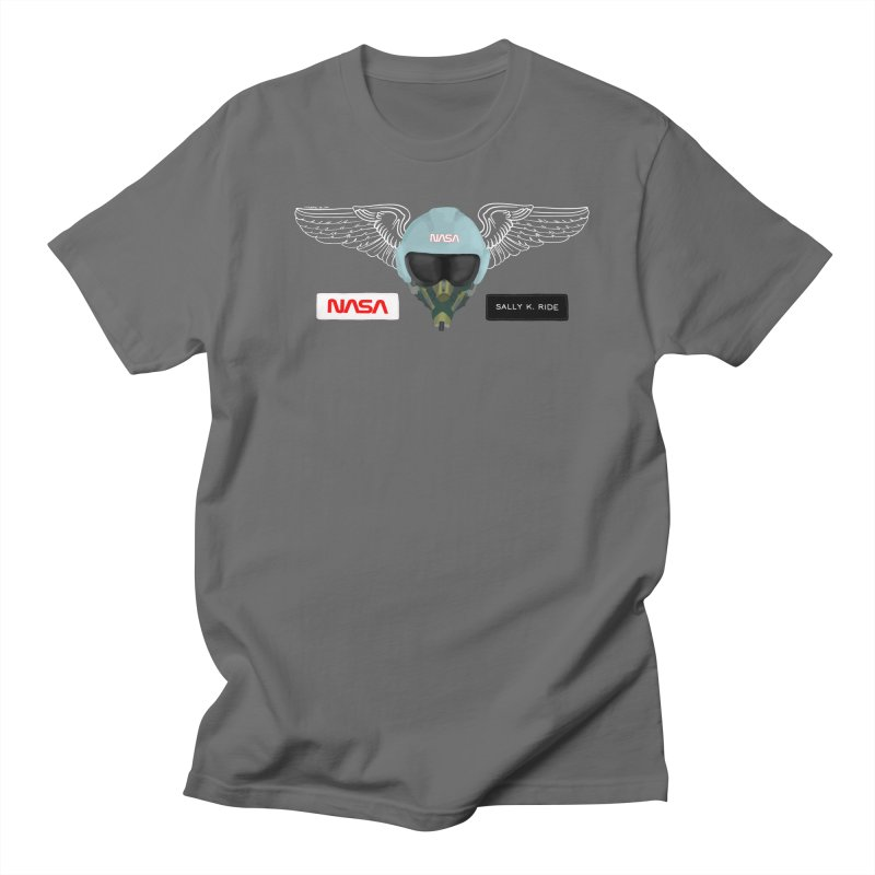 Sally Ride Tribute Men's T-Shirt by Juleah Kaliski Designs