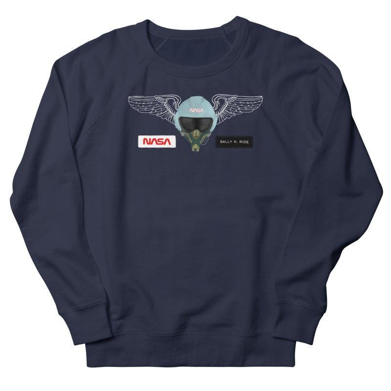 Sally Ride Tribute Men's Sweatshirt by Juleah Kaliski Designs