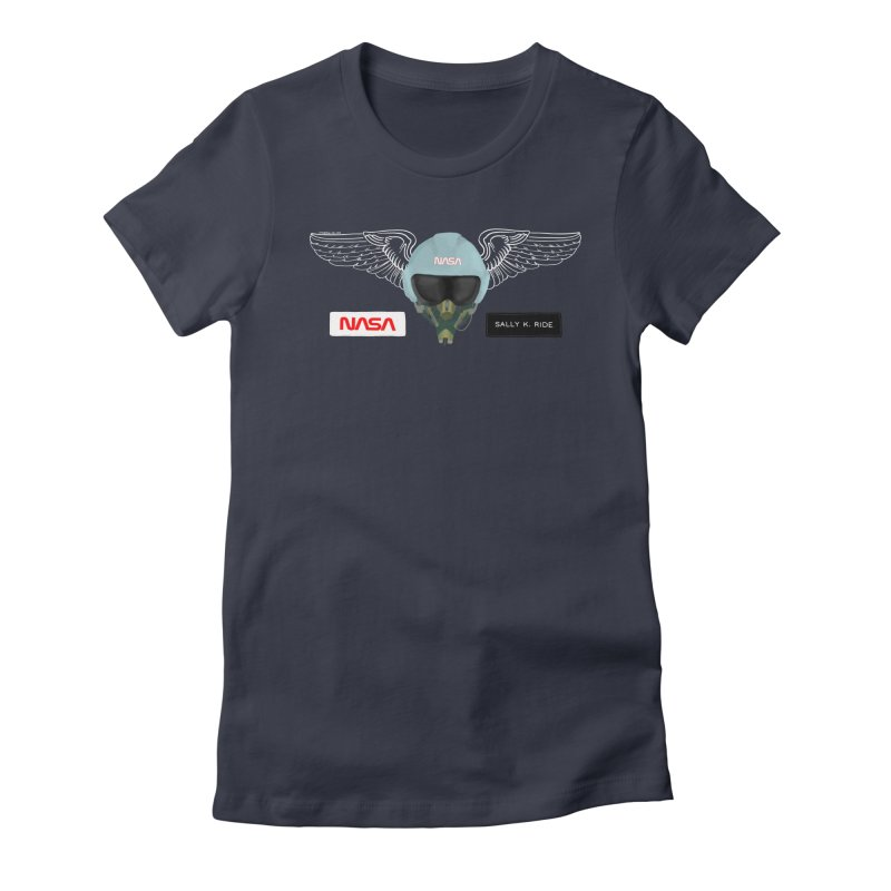 Sally Ride Tribute Women's T-Shirt by Juleah Kaliski Designs