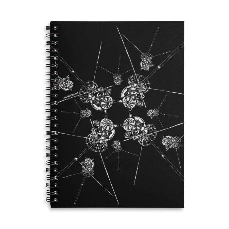 All the Cassini's Accessories Notebook by Juleah Kaliski Designs
