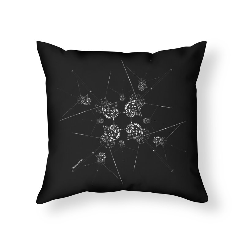 All the Cassini's Home Throw Pillow by Juleah Kaliski Designs
