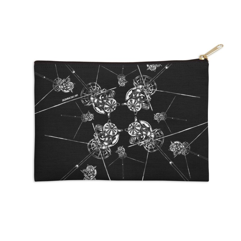 All the Cassini's Accessories Zip Pouch by Juleah Kaliski Designs