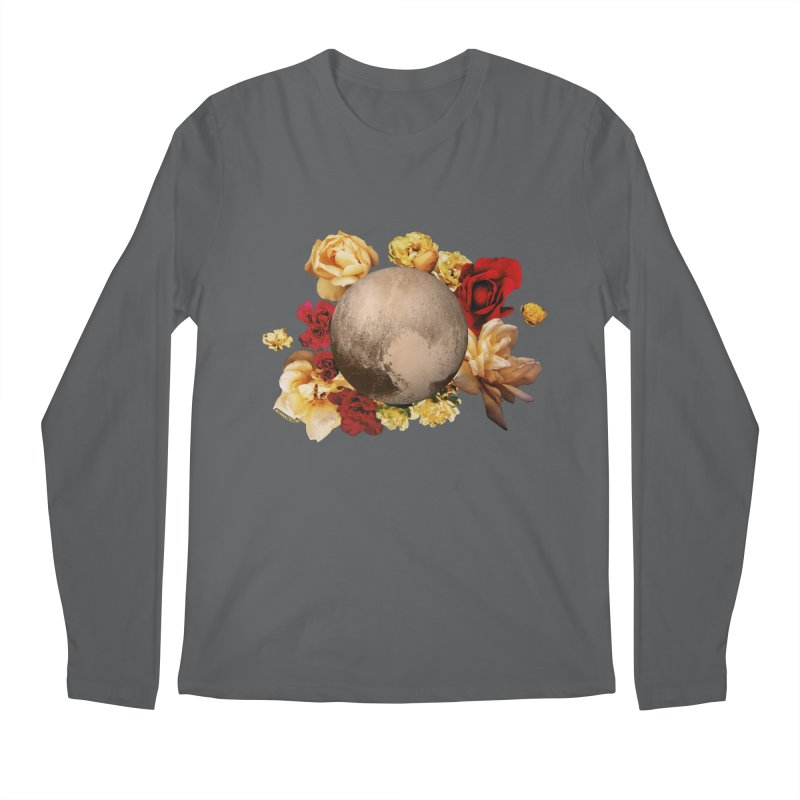 Roses are red, Violets are blue, I love Pluto and so do you. Men's Regular Longsleeve T-Shirt by Juleah Kaliski Designs