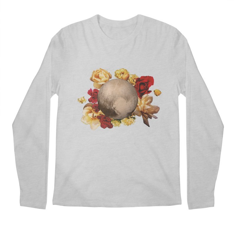 Roses are red, Violets are blue, I love Pluto and so do you. Men's Longsleeve T-Shirt by Juleah Kaliski Designs