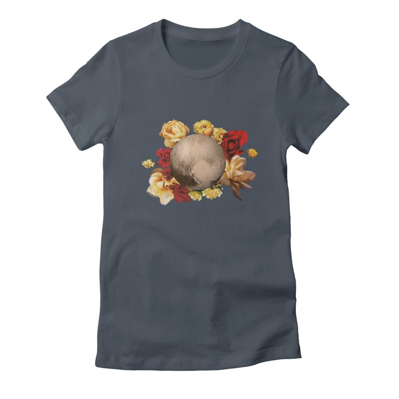Roses are red, Violets are blue, I love Pluto and so do you. Women's T-Shirt by Juleah Kaliski Designs