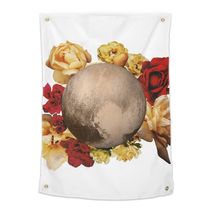 Roses are red, Violets are blue, I love Pluto and so do you. Home Tapestry by Juleah Kaliski Designs