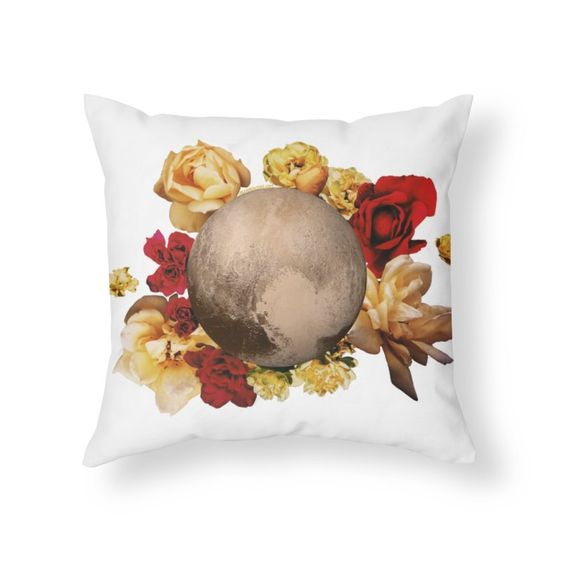 Roses are red, Violets are blue, I love Pluto and so do you. Home Throw Pillow by Juleah Kaliski Designs