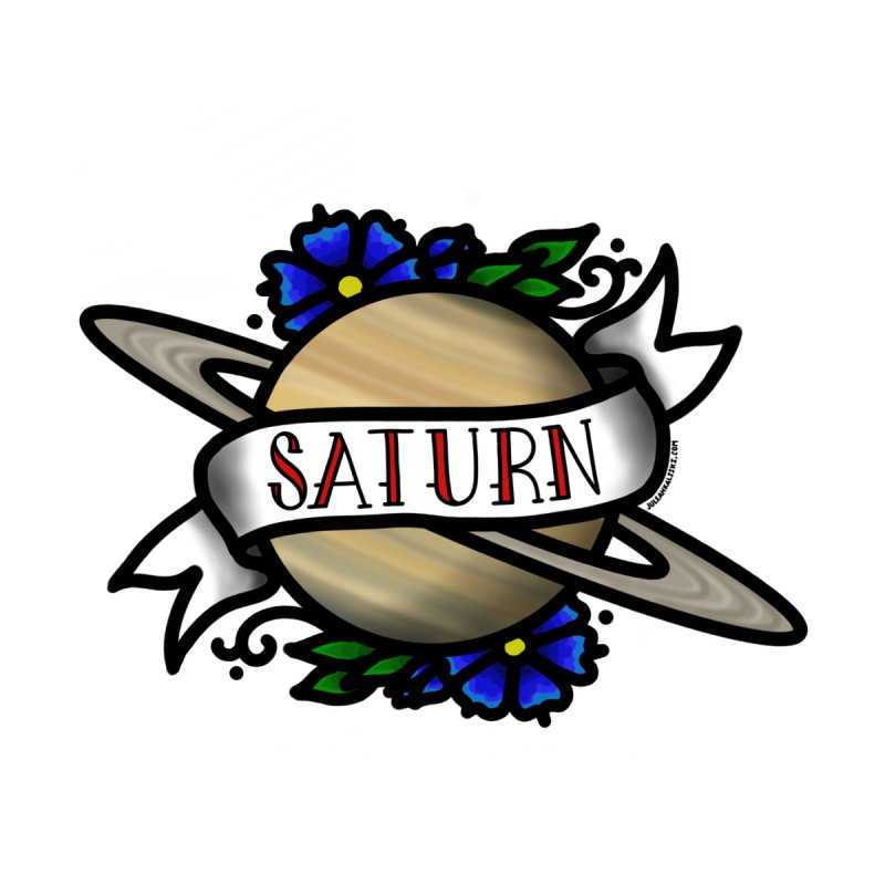 Saturn, I shall always love you   by Juleah Kaliski Designs