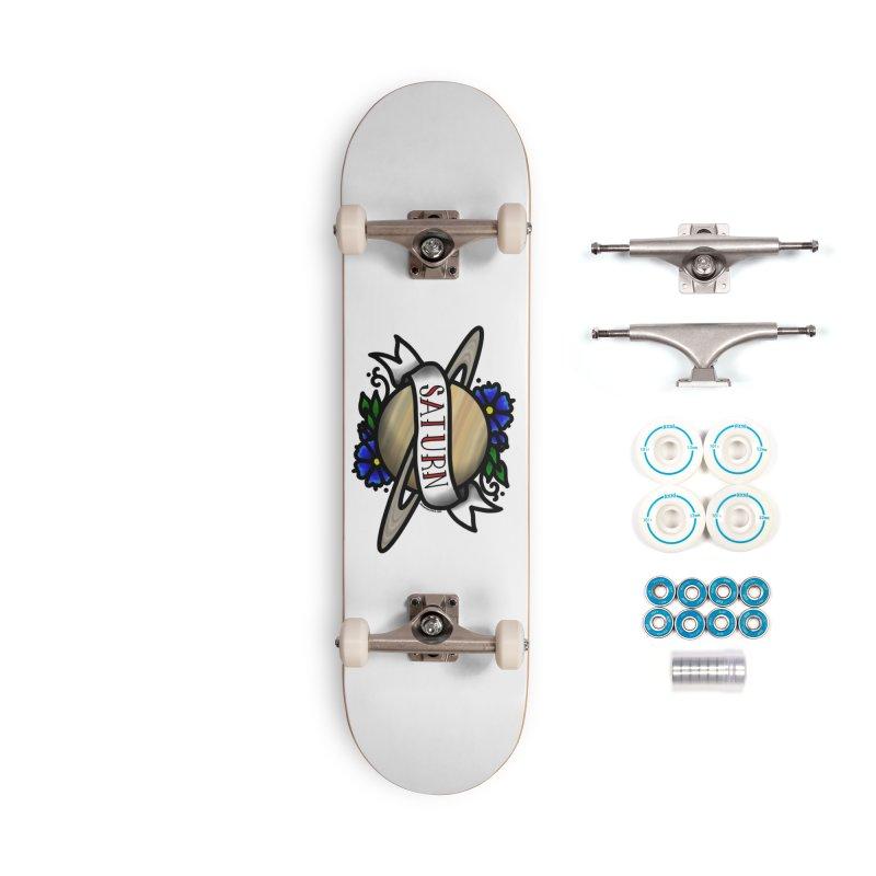 Saturn, I shall always love you Accessories Skateboard by Juleah Kaliski Designs