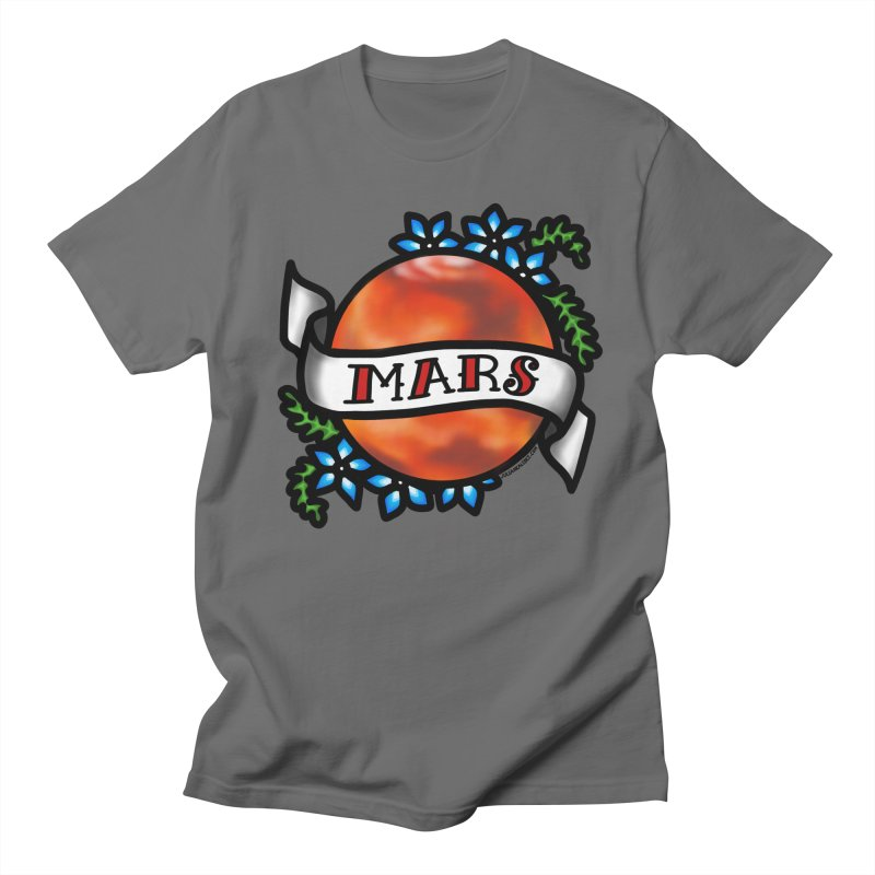 Mars, I shall always love you Men's T-Shirt by Juleah Kaliski Designs