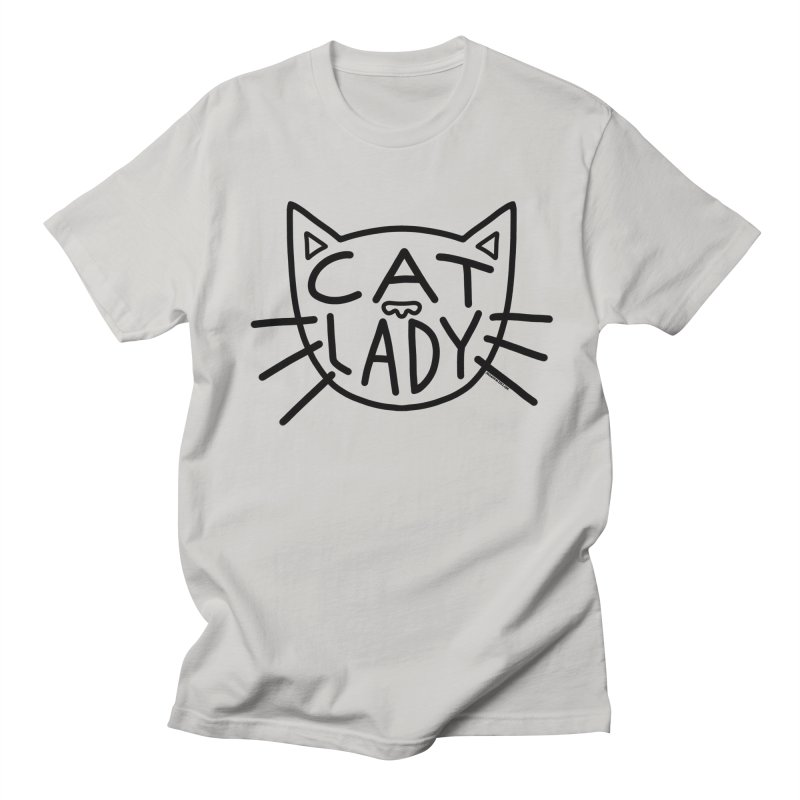 Cat Lady Men's T-Shirt by Juleah Kaliski Designs