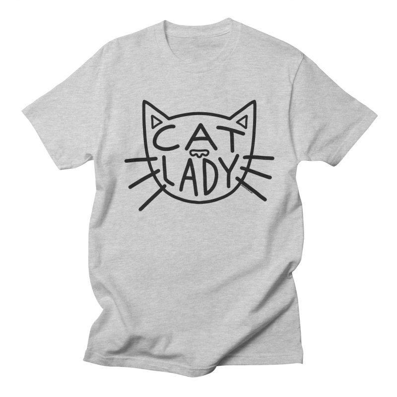 Cat Lady Women's Regular Unisex T-Shirt by Juleah Kaliski Designs