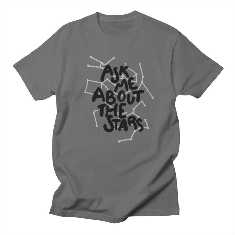 Ask Me About The Stars Women's T-Shirt by Juleah Kaliski Designs