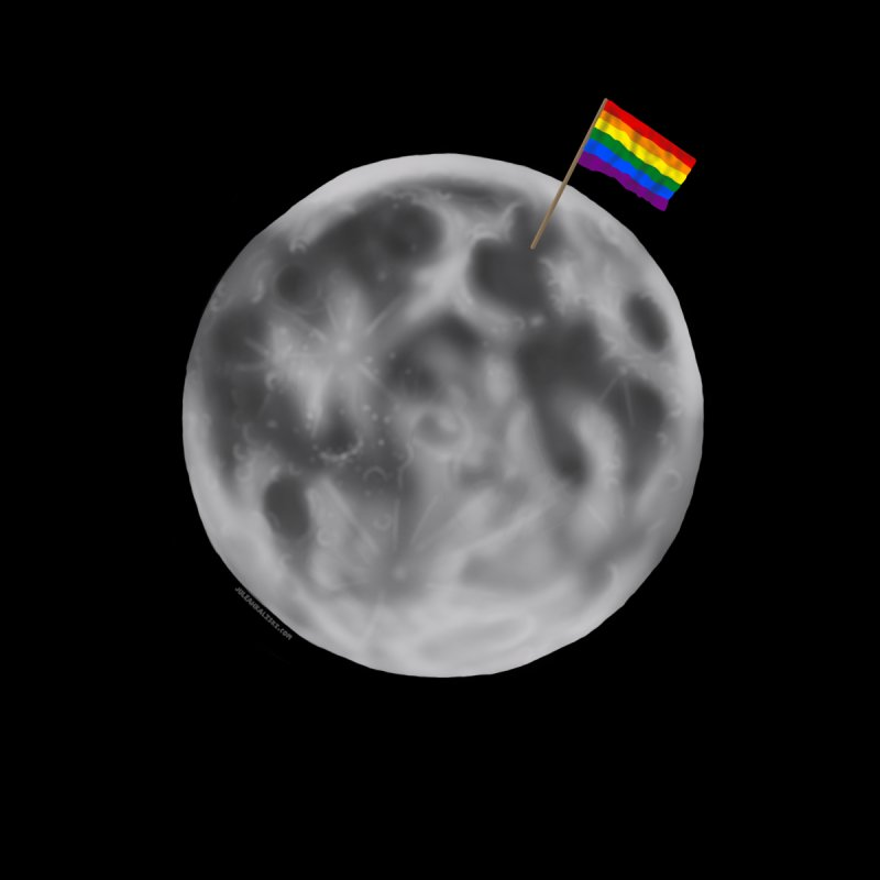 Moon Pride by Juleah Kaliski Designs