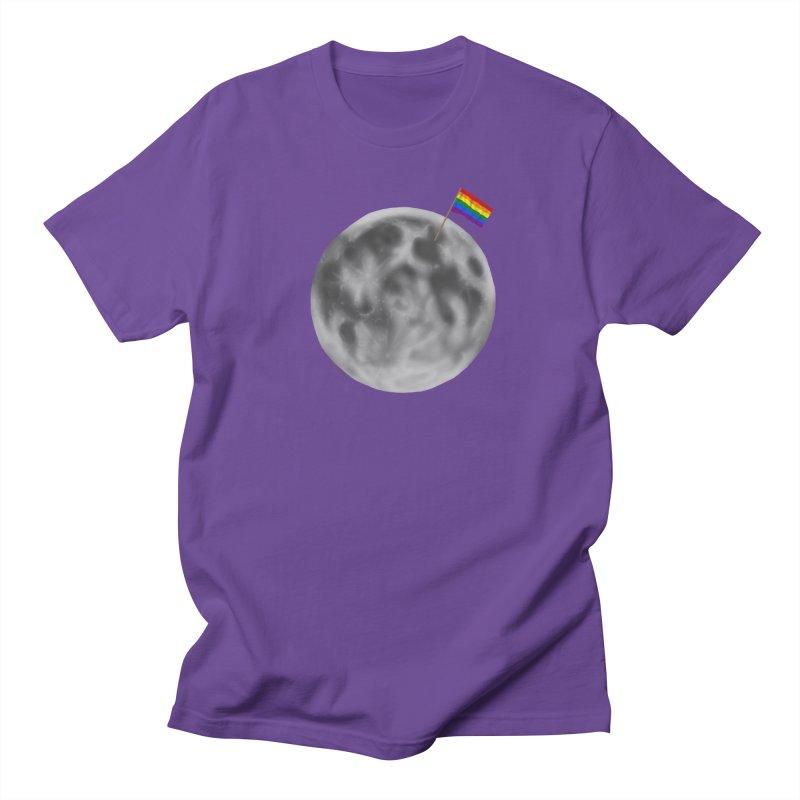 Moon Pride Women's Unisex T-Shirt by Juleah Kaliski Designs