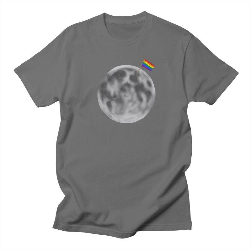 Moon Pride Men's T-Shirt by Juleah Kaliski Designs