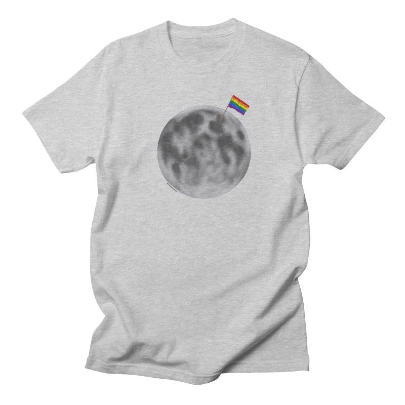 Moon Pride Women's Regular Unisex T-Shirt by Juleah Kaliski Designs