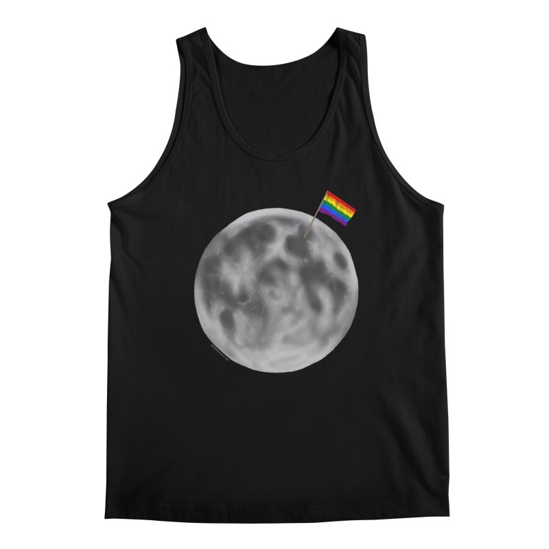 Moon Pride Men's Regular Tank by Juleah Kaliski Designs