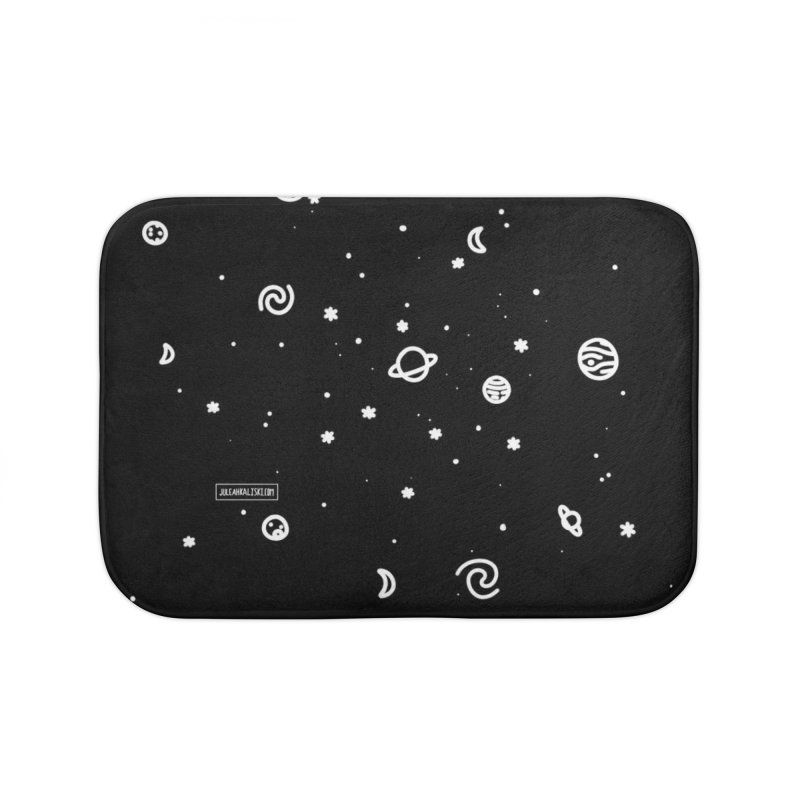Cosmic Cluster Home Bath Mat by Juleah Kaliski Designs