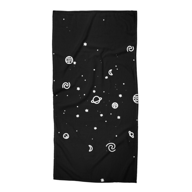 Cosmic Cluster Accessories Beach Towel by Juleah Kaliski Designs