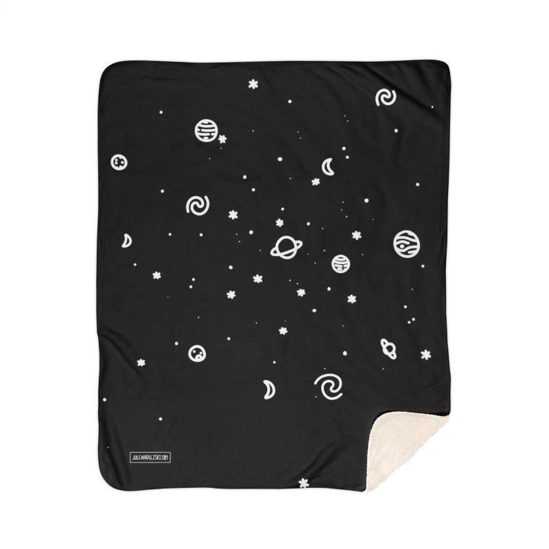 Cosmic Cluster Home Sherpa Blanket Blanket by Juleah Kaliski Designs