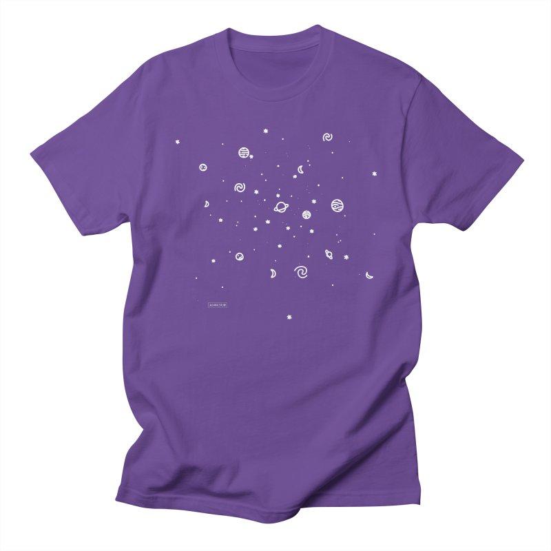 Cosmic Cluster Women's Regular Unisex T-Shirt by Juleah Kaliski Designs