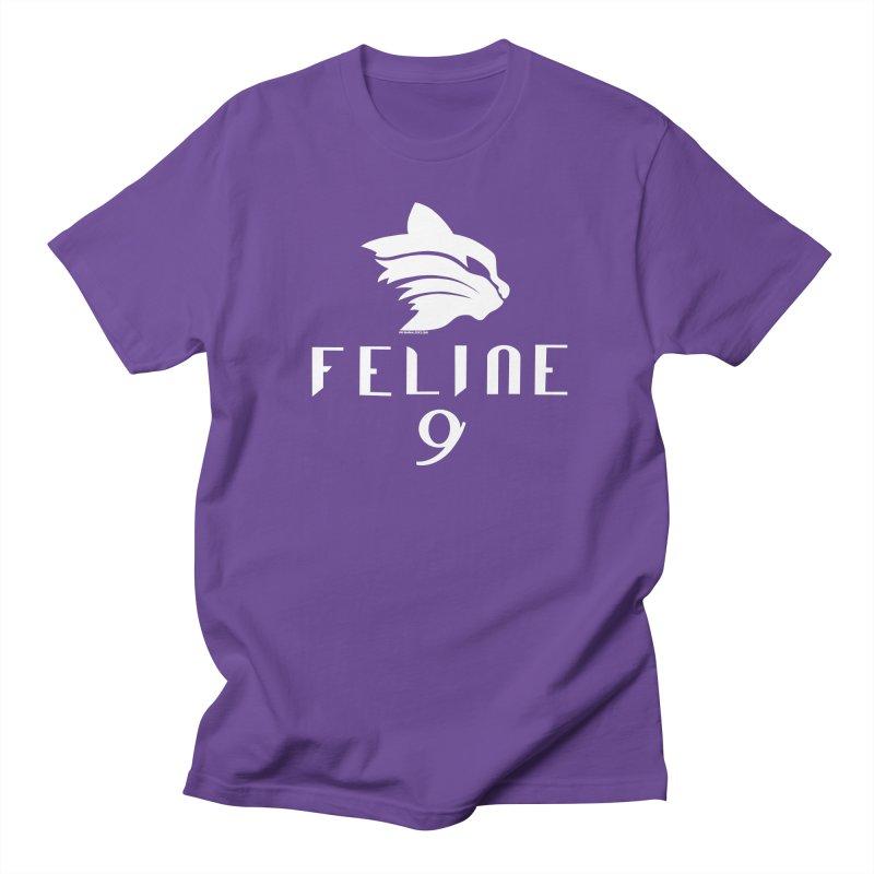 Feline 9 - WHITE Women's Unisex T-Shirt by Juleah Kaliski Designs