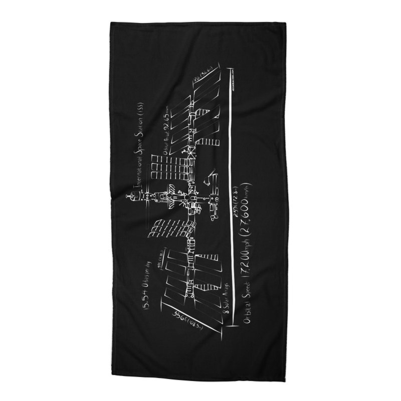 ISS dimensions Accessories Beach Towel by Juleah Kaliski Designs