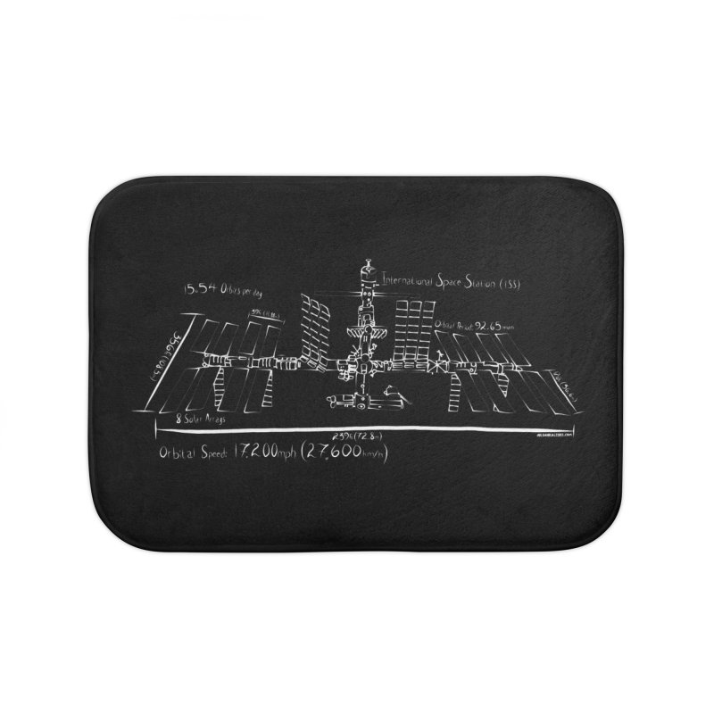 ISS dimensions Home Bath Mat by Juleah Kaliski Designs