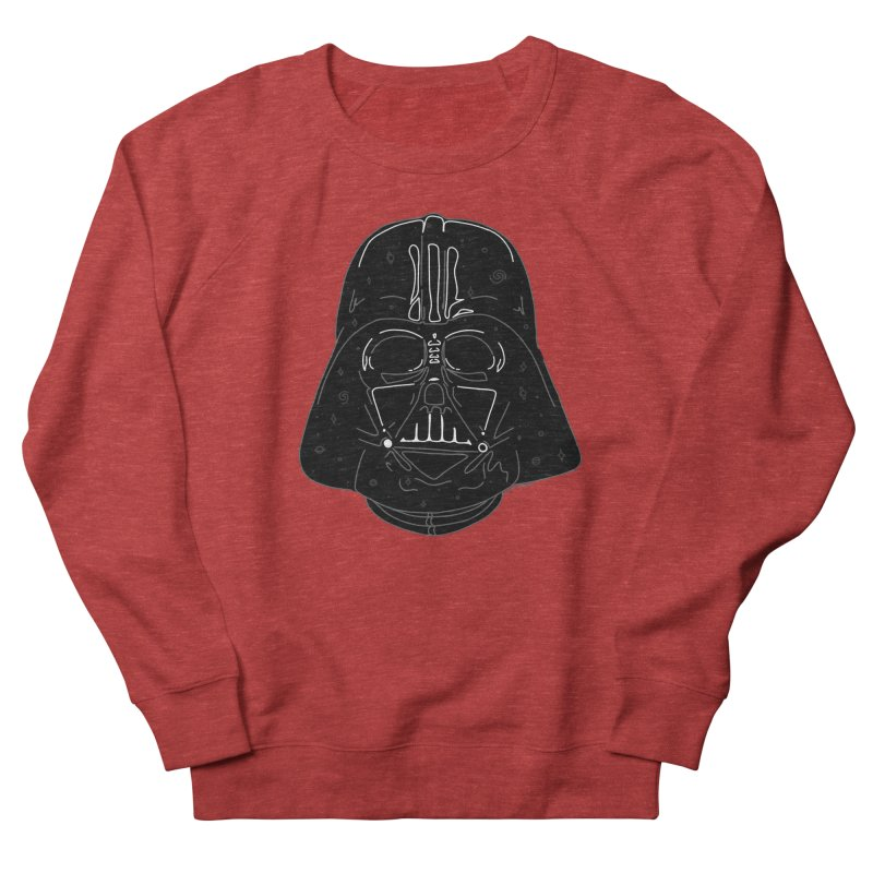 Cosmic Vader Men's French Terry Sweatshirt by Juleah Kaliski Designs