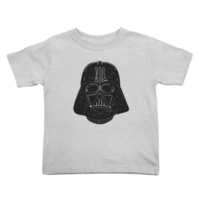 Cosmic Vader Kids Toddler T-Shirt by Juleah Kaliski Designs