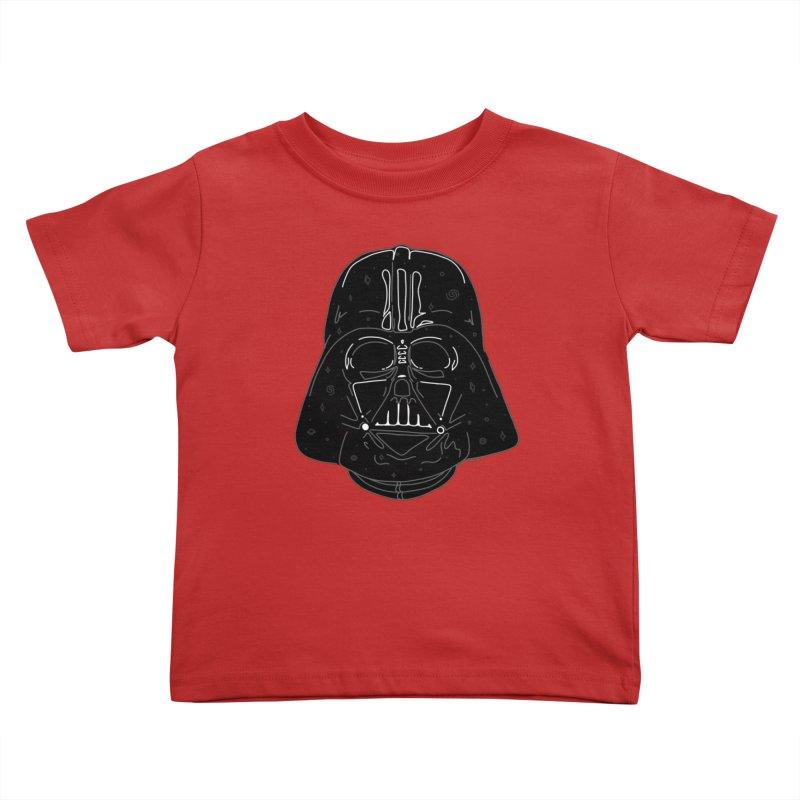 Cosmic Vader Kids Toddler T-Shirt by Juleah Kaliski Designs