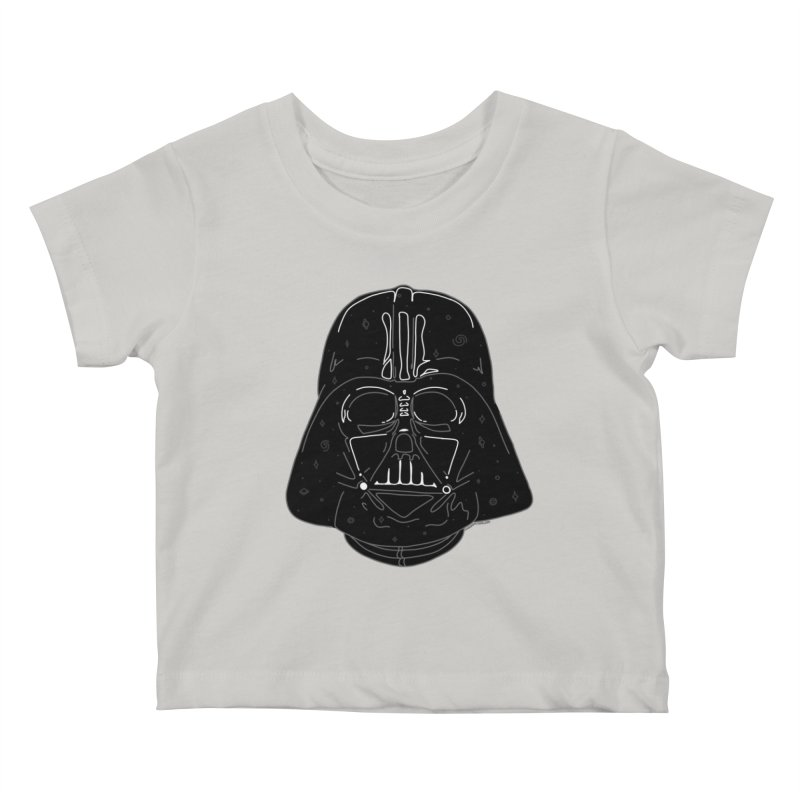 Cosmic Vader Kids Baby T-Shirt by Juleah Kaliski Designs